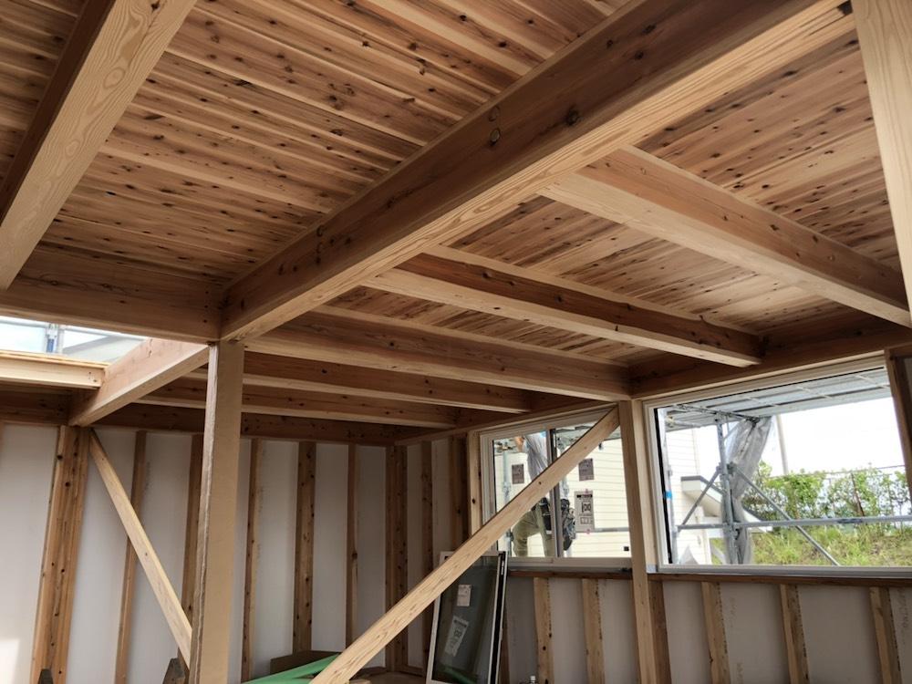 2階の化粧天井
